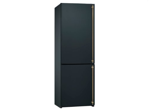 smeg fa860as stand k hlkombi tiefk hlschrank anthrazit griff messing nofrost a k hlschrank. Black Bedroom Furniture Sets. Home Design Ideas
