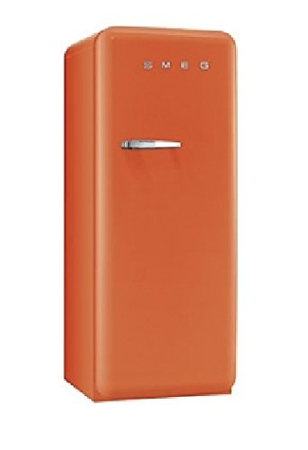 smeg standk hlschrank mit gefrierfach fab28ro1 orange rechtsanschlag a k hlschrank. Black Bedroom Furniture Sets. Home Design Ideas